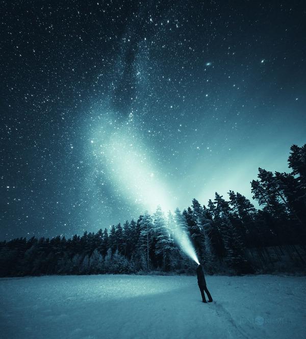 綺麗すぎ!フィンランドの夜空、満天の星空の写真 (5)