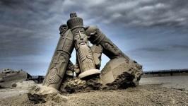 砂の彫刻コンテスト!ハンプトン・ビーチ2015年