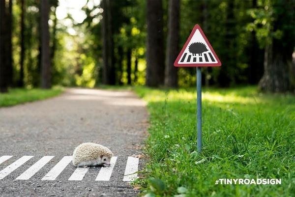 街に設置する動物の道路標識・看板 (1)