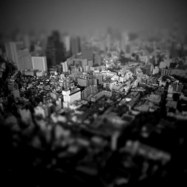 ミニチュアジオラマ風の東京の写真!チルトシフト (7)