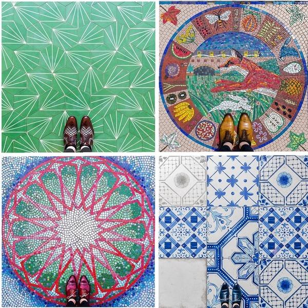 カラフルで多様なロンドンの床の写真シリーズ (7)