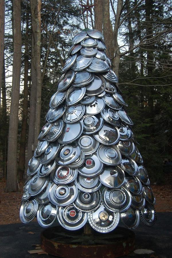 一味違ったちょっとクリエイティブなクリスマスツリー特集画像! (5)