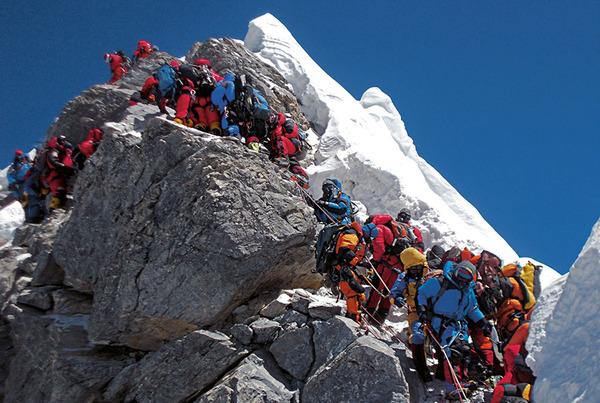 エベレスト登山2