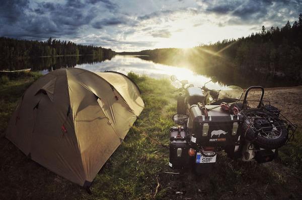 03 フィンランドでのキャンプ
