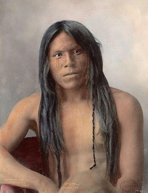 インディアン(ネイティブ・アメリカン)の貴重なカラー化写真 (19)