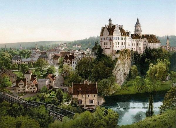 第一次世界大戦前のドイツの白黒写真をカラー化 (3)