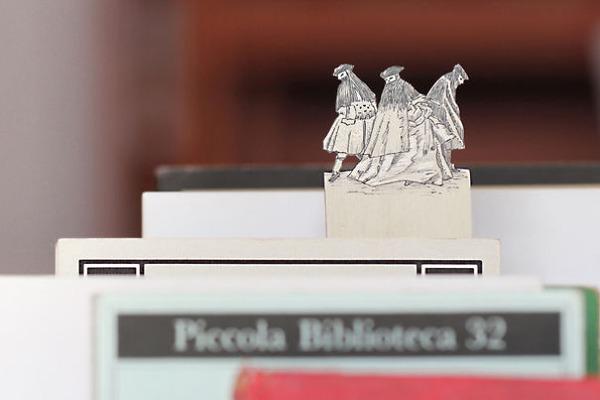 silverleaf 銀の彫刻が施された栞(しおり)11