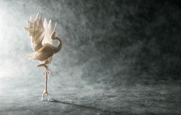 一枚の紙から折り紙で作る動物!折り紙アート (17)