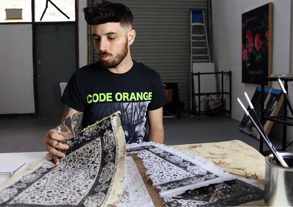 ゴージャスなペルシャ絨毯…を限りなく再現した絵画 (4)