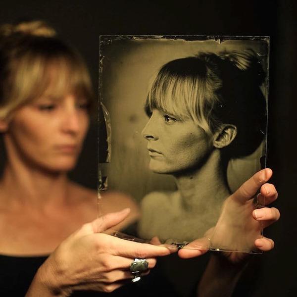160年前のカメラで撮る肖像写真 (3)