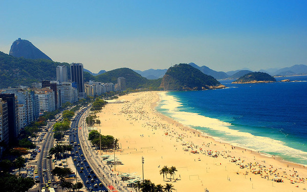 リオデジャネイロのビーチ