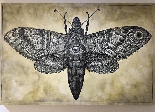 スピリチュアル…。生と死を描いた壁画アート (7)