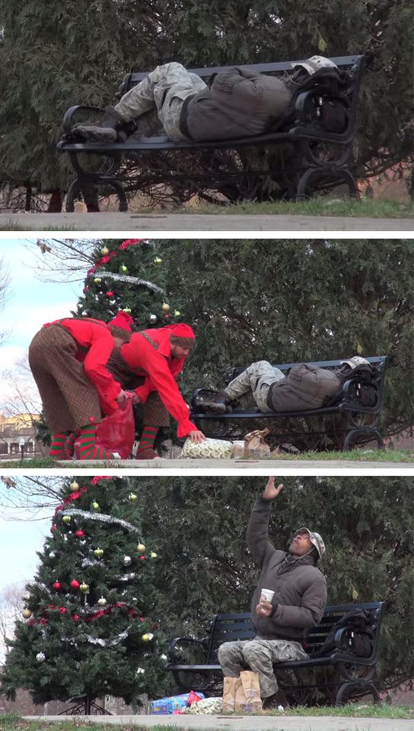 #15 クリスマスにホームレスにプレゼント