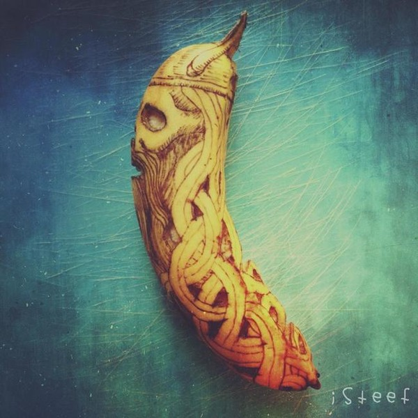 バナナのアート (12)