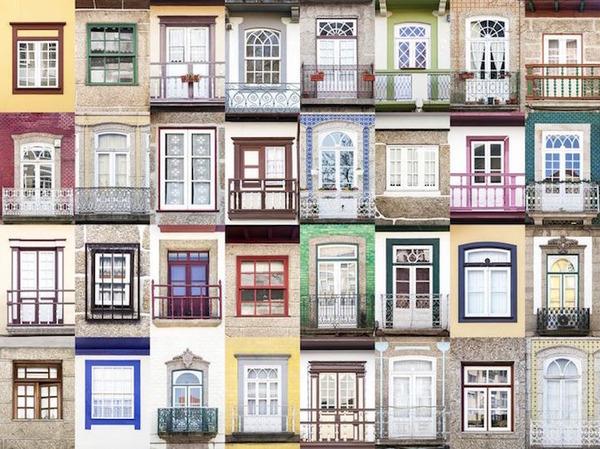 ポルトガル、リスボンの玄関ドア