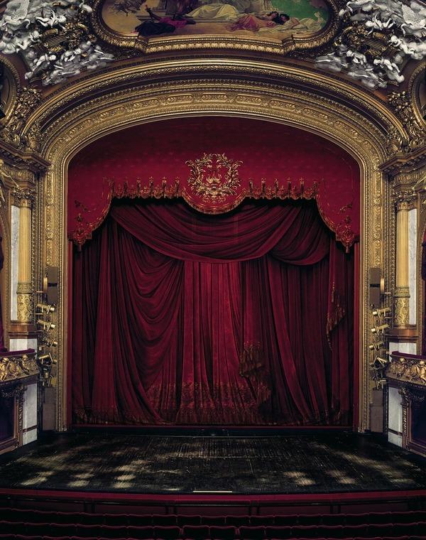 カーテン、スウェーデン王立歌劇場、スウェーデン、2008