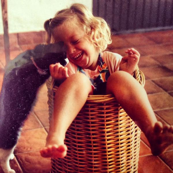 ペットは大切な家族!犬や猫と人間の子供の画像 (45)