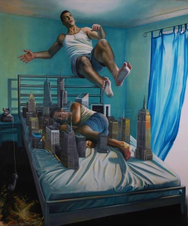 夢は忘れるから…夢を絵に描いて残す!! (2)