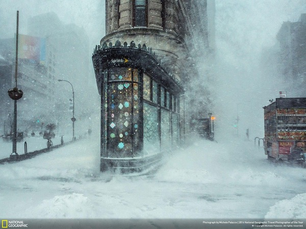 Jonas Blizzard and the Flatiron Building
