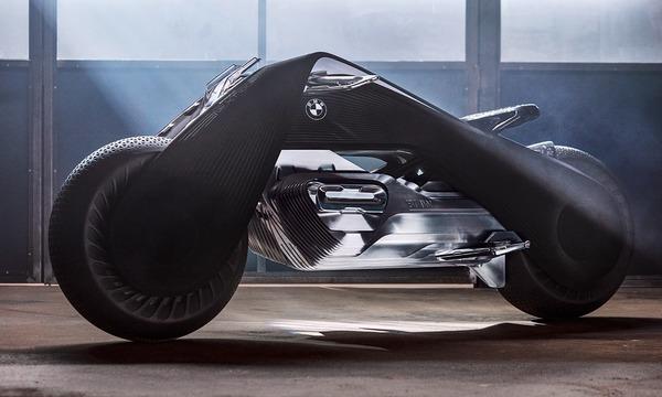完全にSF!BMWのコンセプトバイク「VISION NEXT 100」 (2)