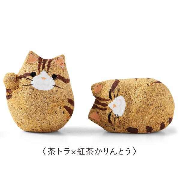 ちび猫がかくれんぼ!せんべいの中に猫のフィギュア付きお菓子 (9)