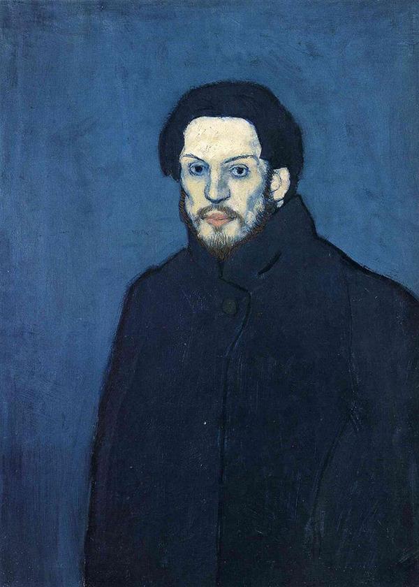 ピカソの自画像!15歳から90歳までの肖像画 (8)