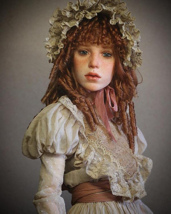 ロシアの超リアルな人形!本物の人間そっくり (1)