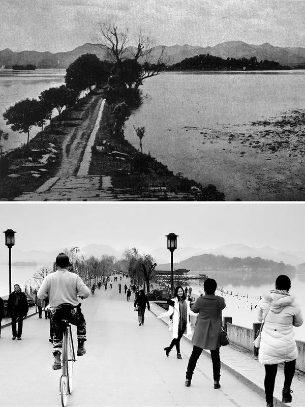 発展した中国の都市風景を比較!過去と現在の画像100年 (12)