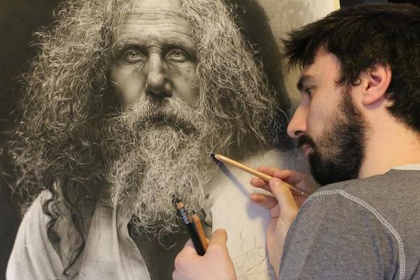 やっぱり凄い。鉛筆で描くハイパーリアリスティックな絵画 (1)