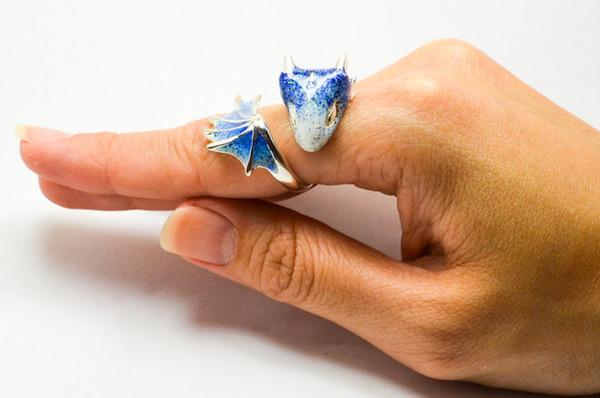 かっこかわいい。竜をモチーフにした指輪『ドラゴンリング』 (5)
