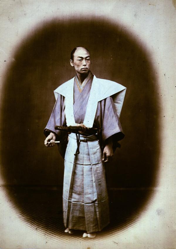 ラストサムライ…!19世紀、明治時代の侍の貴重な写真 (11)
