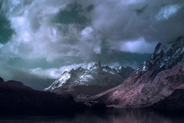 嵐の大地パタゴニアの美しく雄大な自然風景写真 (1)