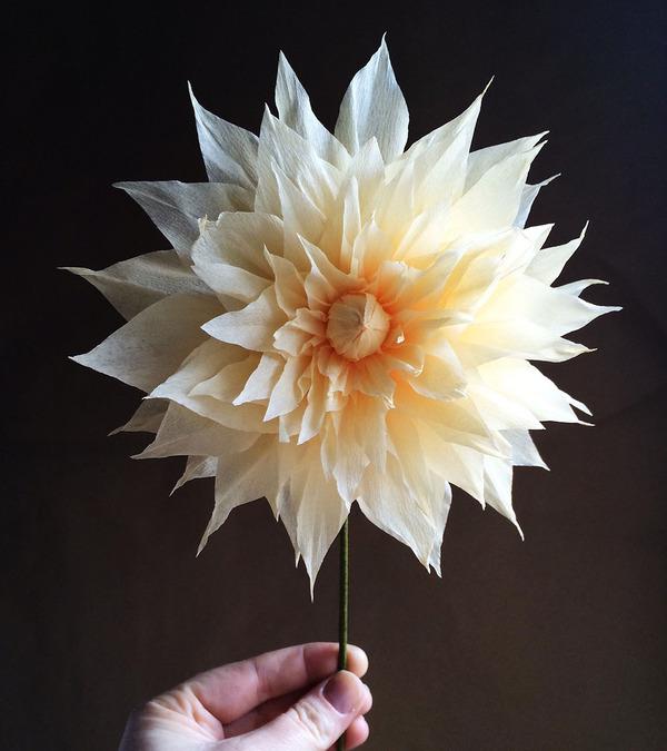 生き生きしてる!本物みたいな紙の花 (2)