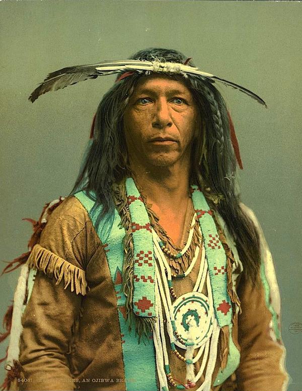 インディアン(ネイティブ・アメリカン)の貴重なカラー化写真 (41)