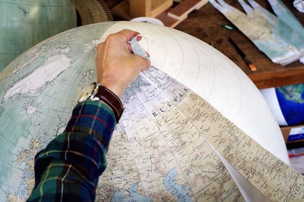 世界を旅したくなる。価値ある手作り地球儀の製作現場 (5)