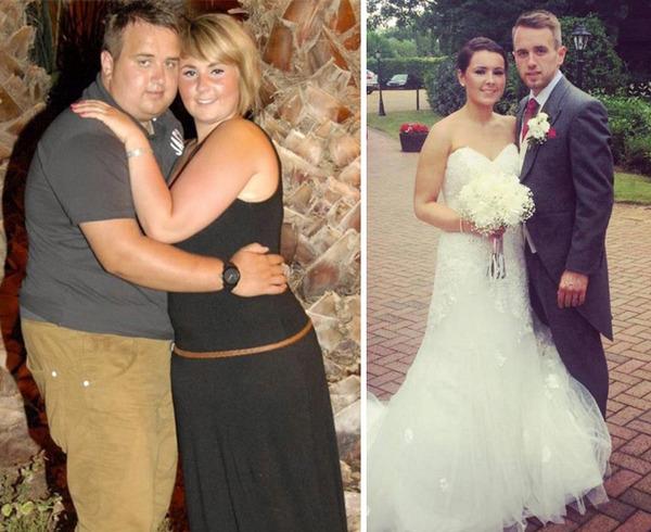 【比較画像】太ったカップルが痩せた (4)