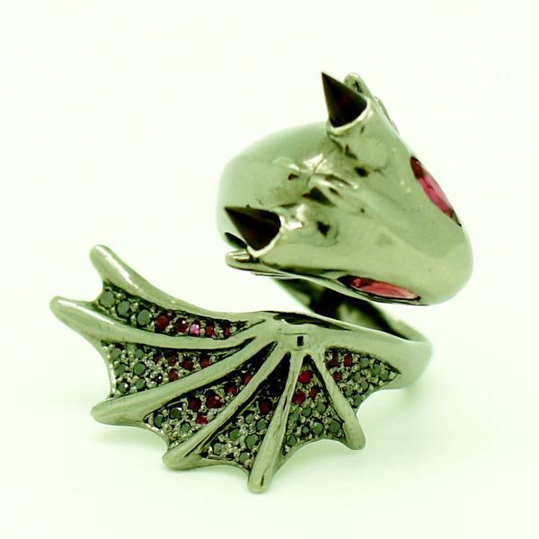 かっこかわいい。竜をモチーフにした指輪『ドラゴンリング』 (4)
