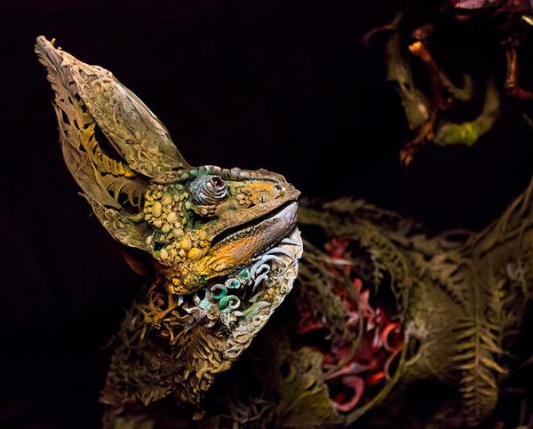 動物と植物が融合した幻想的な彫刻!Ellen Jewettの新作紹介 (6)