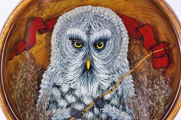 人間に進化したかのような森の動物アート Drew Mosley 7