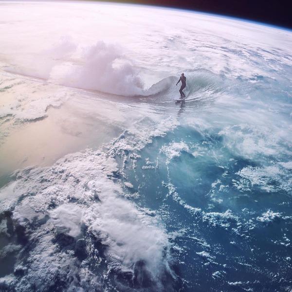 曲げられた地上に歪む空間、壮大なフォトレタッチ集 (1)