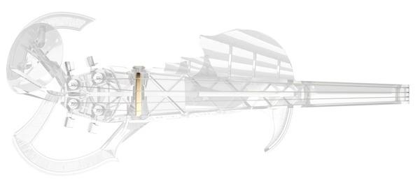 世界初!3Dプリンタで作られた演奏できるエレキバイオリン