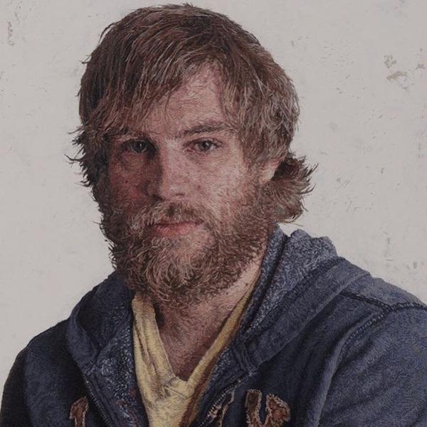 まるで油絵のよう!刺繍で描かれたリアルな肖像画作品 (15)