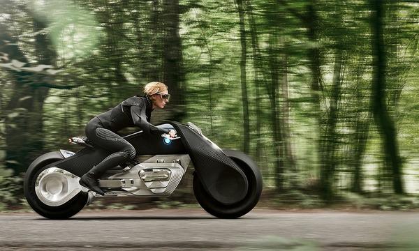 完全にSF!BMWのコンセプトバイク「VISION NEXT 100」 (4)
