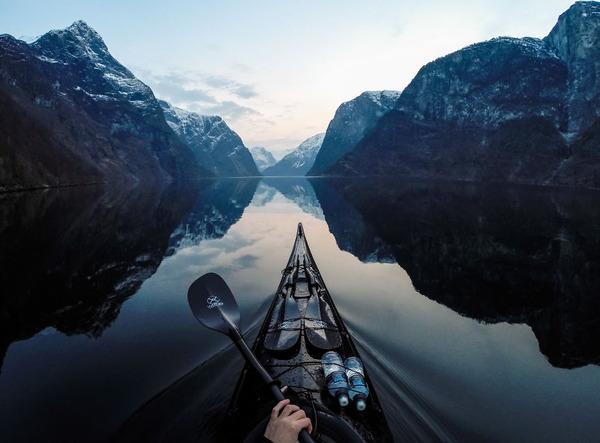 カヤッカー視点で観るノルウェーフィヨルドの旅【風景画像】 (1)