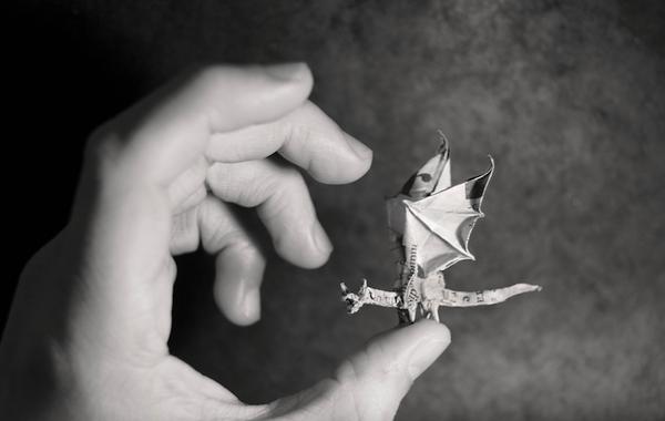 一枚の紙から折り紙で作る動物!折り紙アート (13)