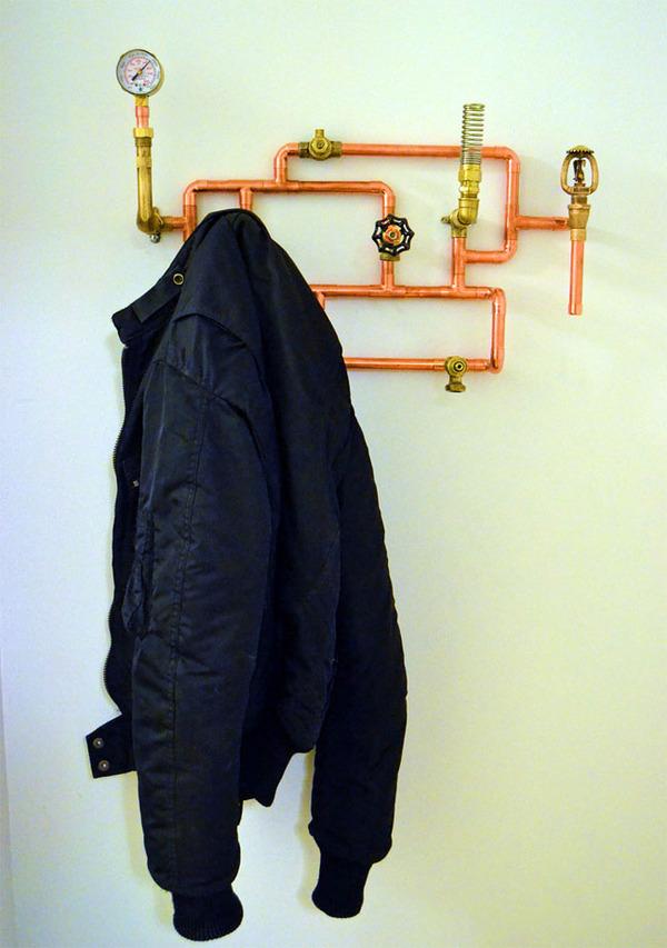 スチームパンクっていいよね。真鍮、銅、金属部品で作る家具 (4)