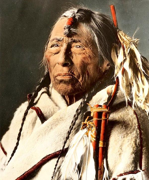 インディアン(ネイティブ・アメリカン)の貴重なカラー化写真 (34)