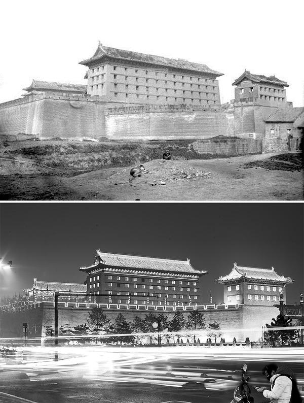 発展した中国の都市風景を比較!過去と現在の画像100年 (1)
