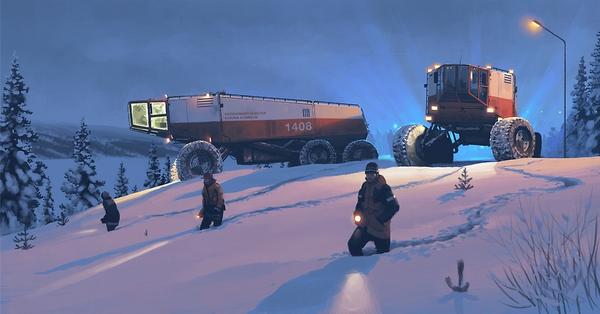 Sci-fi イラスト Simon Stålenhag 9
