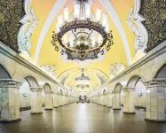 建築美!宮殿のように豪華で美しいロシア地下鉄の画像